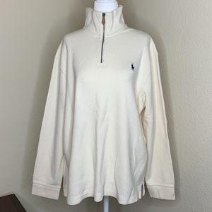 Polo Ralph Lauren Men's Quarter-Zip Sweater L